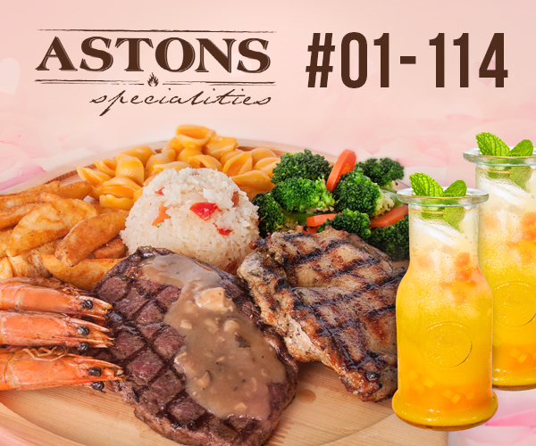 Astons Specialities Valentine Day Promotion