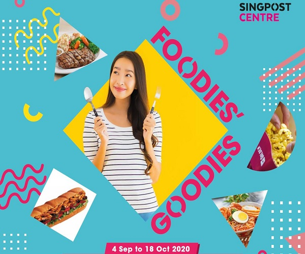 SingPost Centre Foodies Goodies 2020