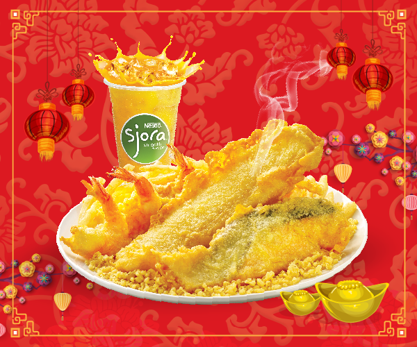 Long John Silver's CNY Promotion