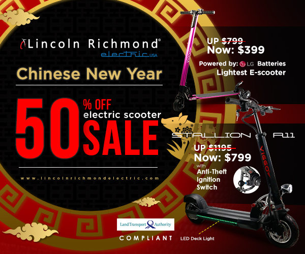 Lincoln Richmond Electric CNY Promotion 2019