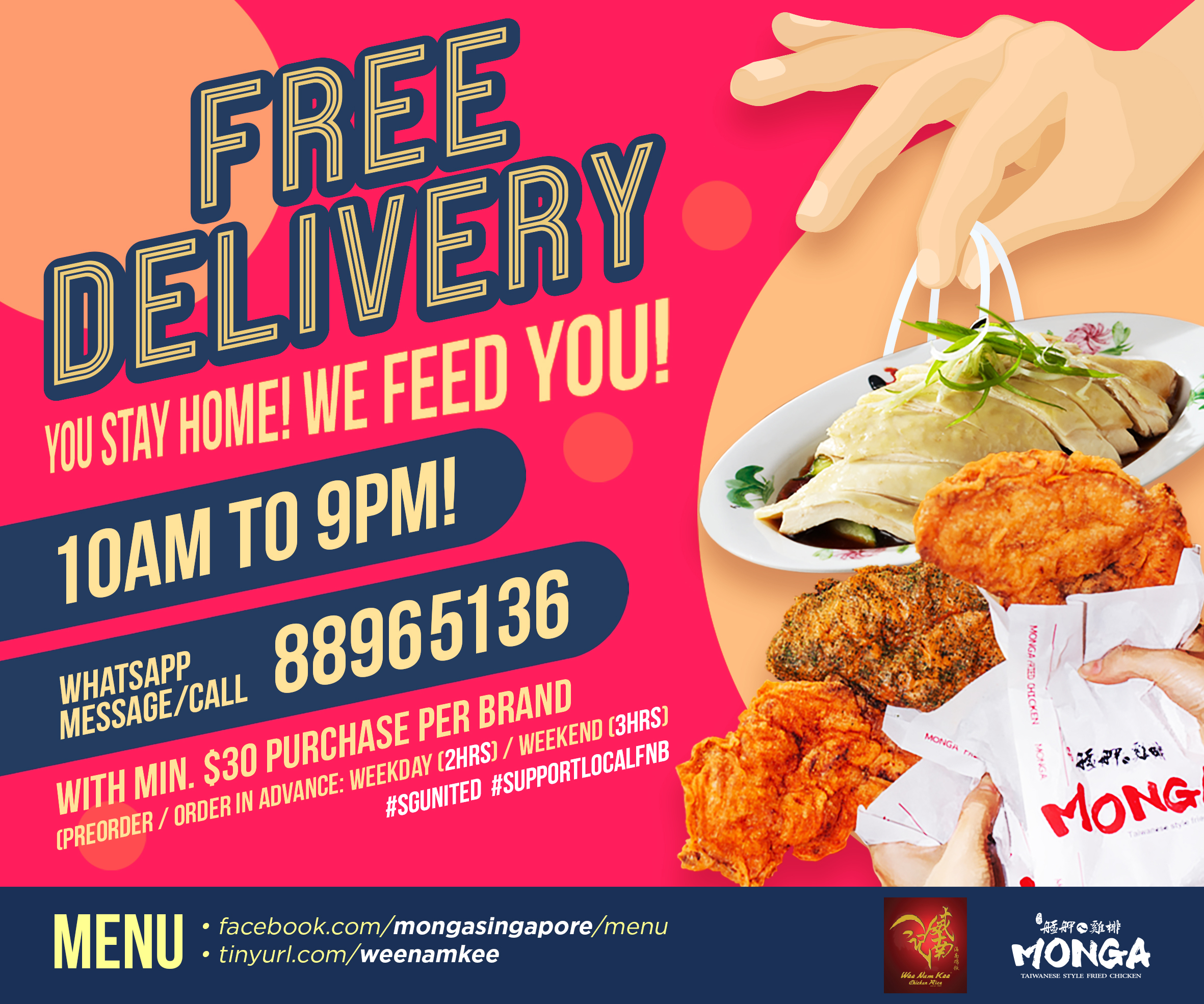 Monga Fried Chicken Takeaway Promotion