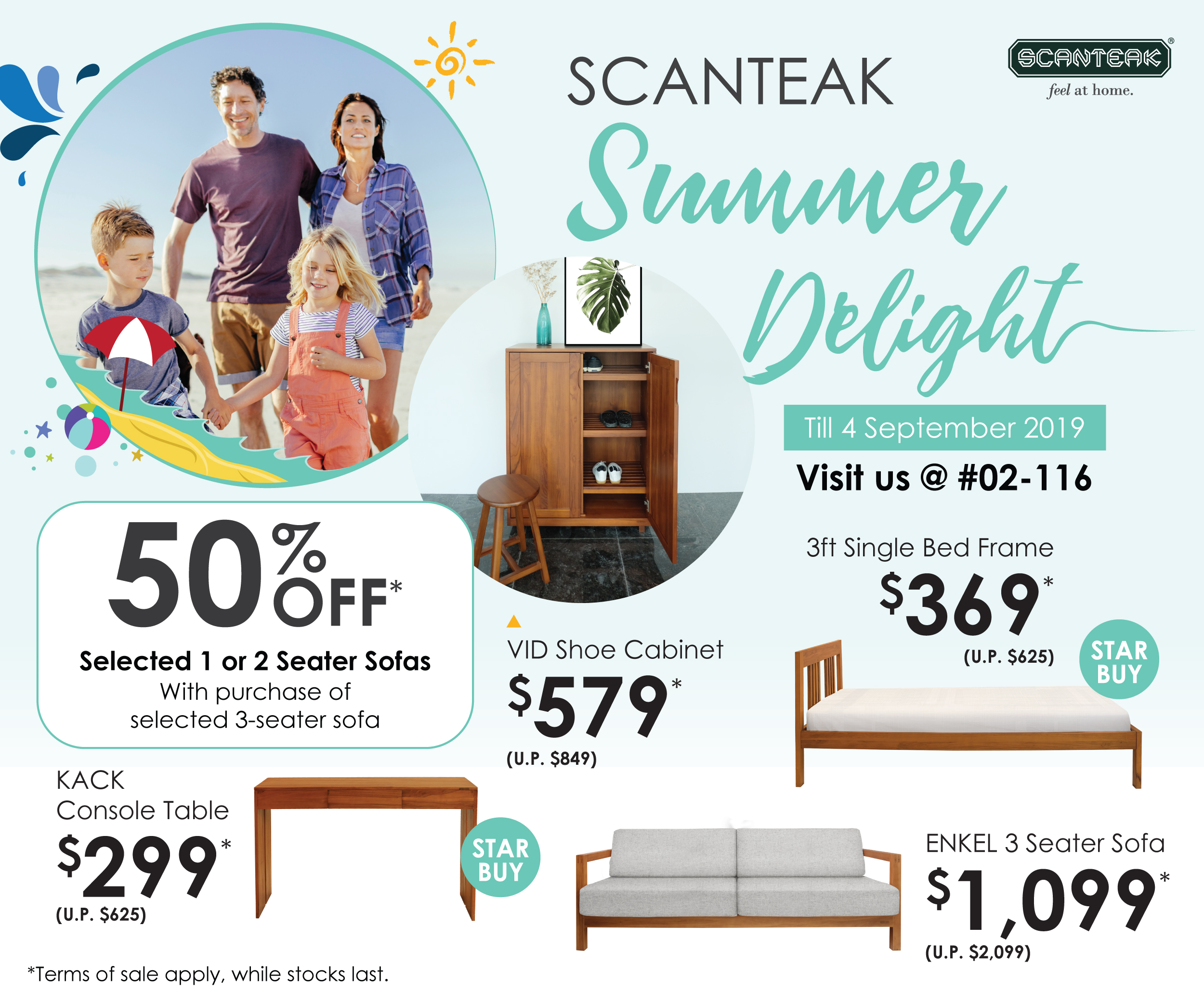 Scanteak Summer Delight 2019