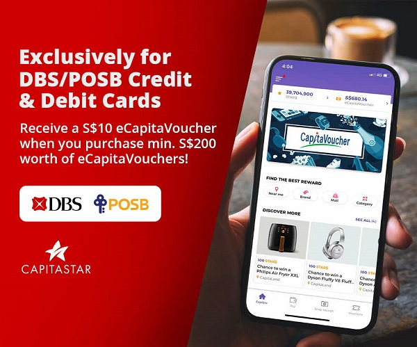 DBS x CapitaLand Campaigns (August to September 2020)