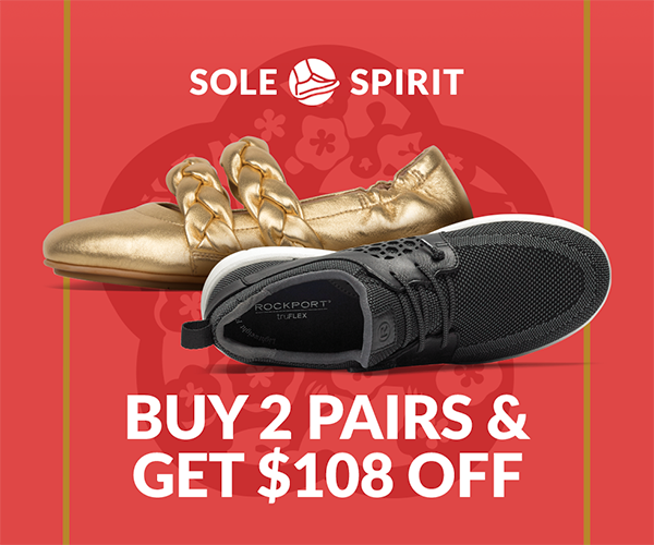 Sole Spirit CNY Promotion 2019