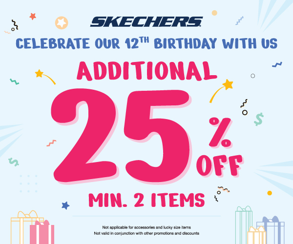 Skechers 12th Birthday Promotion
