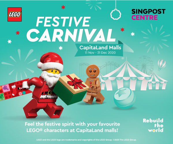 Festive Carnival 2020 at SingPost Centre